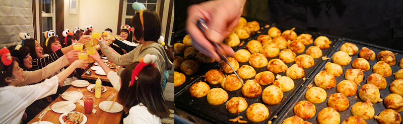 Every Saturday is Takoyaki Party